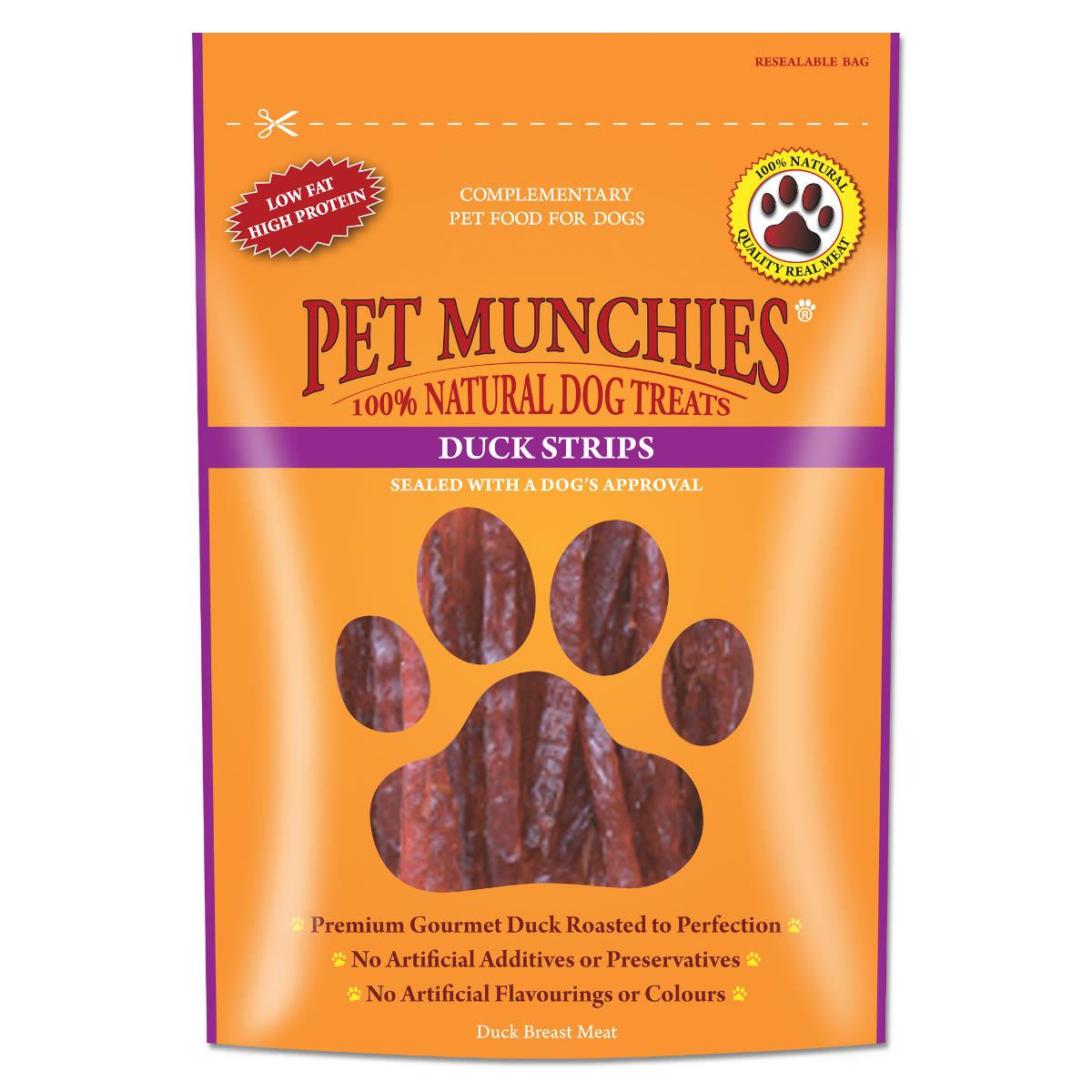 Pet Munchies Dog Treats - Duck