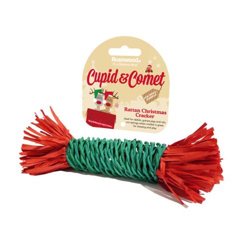 Cupid kerstcracker voor kleine dieren